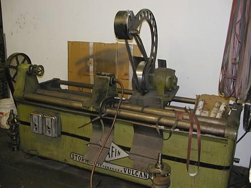 crank polishing machine